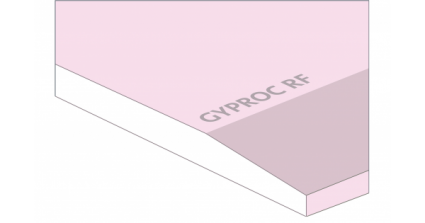 Gyproc brandwerende gipsplaat RF AK (DF) 2600x1200x12,5 mm