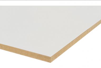 MDF prime 2 zijdig wit 80gr E1 CE 70% PEFC 2440x1220x12 mm